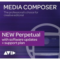 Avid Media Composer Perpetual 1-Year Software Updates + Support Plan RENEWAL (Electronic Delivery)