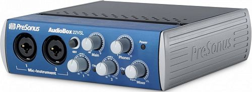 PreSonus AudioBox 22VSL аудиоинтерфейс