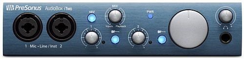 PreSonus AudioBox iTwo аудиоинтерфейс, 2 канала